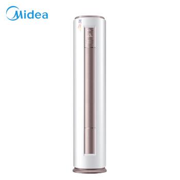 美的(Midea)3つのエアコン家庭用円柱定周波エアコンのワンタッチ除湿快適静音智行KFR-72 LW/DY-YA400(D 3)