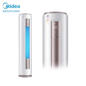 美的(Midea)3匹の智行IIの新一級機能周波数変换冷房暖房客間円柱エアコンスタンドKFR-72 LW/BP 3 DN 8 Y-YH 2000(1)